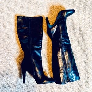 Nine West high heel boots sophisticated Size 7M